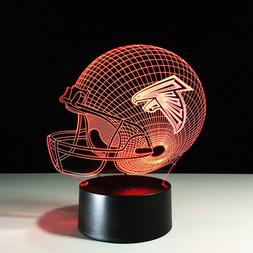 Atlanta Falcons LED Light Lamp Collectible Matt Ryan Julio J