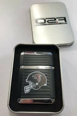 Atlanta Falcons Lighter Butane Windproof With Gift Box Licen