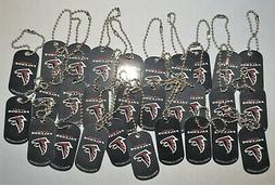 Atlanta Falcons Lot of  KEY CHAINS Dog Tag NEW