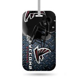 atlanta falcons luggage id tag new nfl