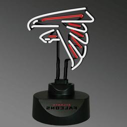 Atlanta Falcons Neon Logo Desk Lamp Man Cave Office Bedroom