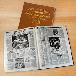Atlanta Falcons Newspaper Book