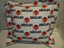 "Atlanta Falcons NFL 14"" Cotton Fabric Throw Pillow/Cover/Sha"