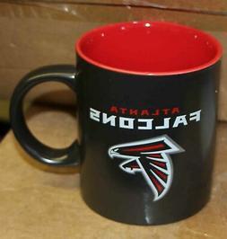 Atlanta Falcons NFL Black Ceramic Coffee Mug