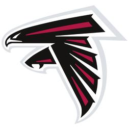 Atlanta Falcons NFL Car Truck Window Decal Sticker Football