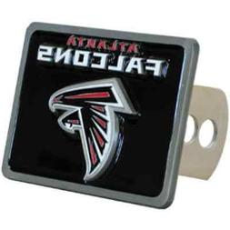 ATLANTA FALCONS NFL Class II/III Pewter Trailer Hitch Cover
