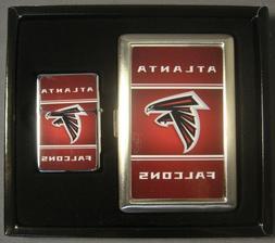 ATLANTA FALCONS NFL CLASSIC LOGO CIGARETTE CASE / WALLET & L