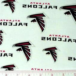 Atlanta Falcons NFL Cotton Fabric - $8.99./yard