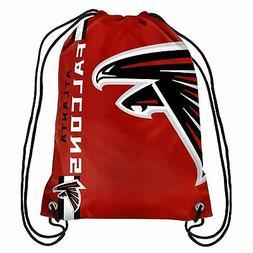 Atlanta Falcons NFL Drawstring Big Logo Backpack Backsack