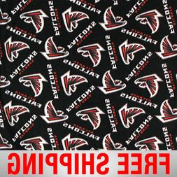 "Atlanta Falcons NFL Fleece Fabric - 60"" Wide - Style# 6236 -"