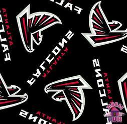 Atlanta Falcons NFL Fleece Fabric 6236 D