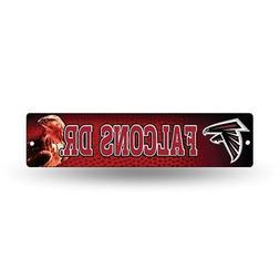 """Atlanta Falcons NFL Football 16"""" Street Sign Fan Wall Decor"""