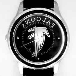 Atlanta Falcons NFL Fossil Relic, Unworn Silver Tone Case Bl
