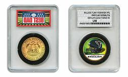 ATLANTA FALCONS NFL *GREATEST DAD* JFK 24KT Gold Clad Coin S