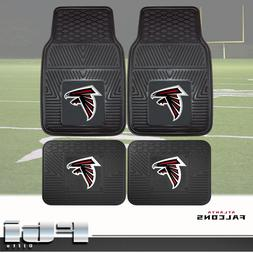 Atlanta Falcons NFL Heavy Duty Vinyl 2-Pc & 4-Pc Floor Car T