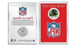 ATLANTA FALCONS NFL Helmet JFK Half Dollar US Coin w/ NFL Di
