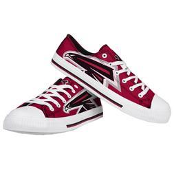 Atlanta Falcons NFL Men's Low Top Big Logo Canvas Shoes FREE
