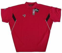 Atlanta Falcons NFL Men's Safety Blitz Red Big & Tall Polo S