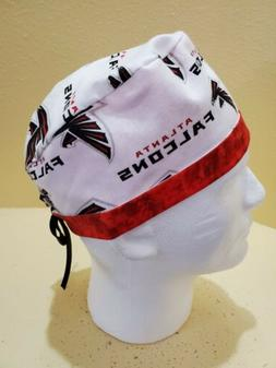 Atlanta Falcons NFL Men's Skull/Chemo Surgical Scrub Hat/Cap