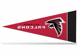 "Atlanta Falcons NFL Mini Pennant 9""x4"", New, Felt, Made in U"