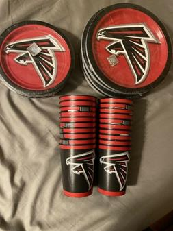 Atlanta Falcons NFL Party Pack Plates Cups