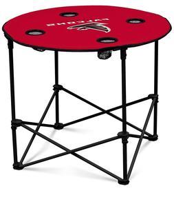 Atlanta Falcons NFL Round Folding Picnic Table Football Tail