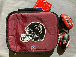Atlanta Falcons NFL Soft Sided Lunch Box with 2 Falcons Hack