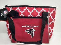 Atlanta Falcons NFL Team Logo Soft 16 Can Cooler Lunch Tote