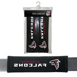 Atlanta Falcons NFL Velour Seat Belt Pads