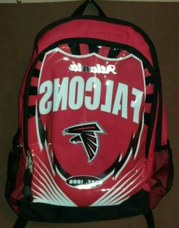 Atlanta Falcons NFL Zipper Backpack Northwest NEW School - W