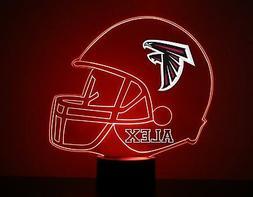 Atlanta Falcons Night Light, Personalized FREE, NFL Football