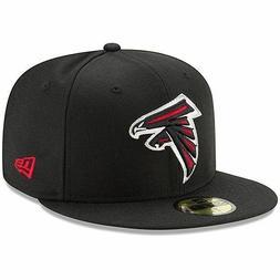 Atlanta Falcons New Era Omaha 59FIFTY Fitted Hat - Black