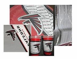 Atlanta Falcons Party Pack - 20 Paper Cups, Plates, Napkins