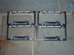 Atlanta Falcons Plastic  License Plate Frame Cover Bulk lot