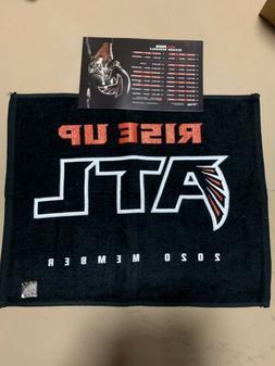 atlanta falcons rally towel 2020 season ticket
