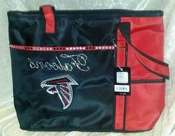 Atlanta Falcons Rhinestone Blinged NFL Tote Purse Bag ~NEW~