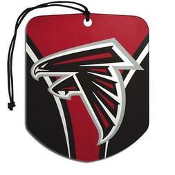 Atlanta Falcons Shield Design Air Freshener 2 Pack  NFL Fres