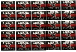 Atlanta Falcons Stickers Set of 25 Vintage Banner Design NFL