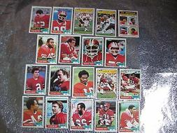 ATLANTA FALCONS TEAM SETS 1981 1982 1984 1988 Vintage TOPPS