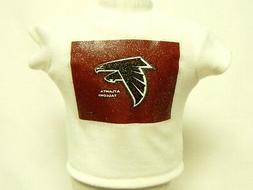 Atlanta Falcons Theme Silver Glitter Transfer T-Shirt For 16