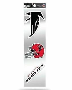 Atlanta Falcons Triple Retro Throwback Spirit Decals Sticker