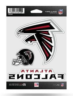 Atlanta Falcons Triple Spirit Sticker Sheet Die Cut Decal Ne