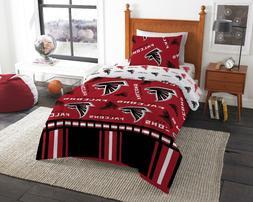 Atlanta Falcons NFL Twin Comforter & Sheets, 4 Piece NFL Bed