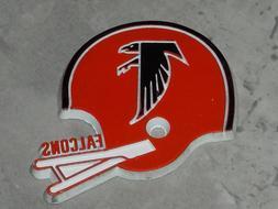 ATLANTA FALCONS Vintage RED NFL RUBBER Football FRIDGE MAGNE