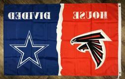 atlanta falcons vs dallas cowboys house divided
