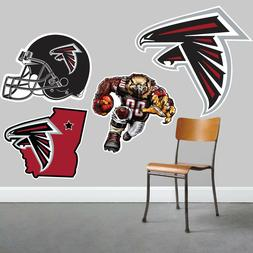 Atlanta Falcons Wall Art 4 Piece Set Large Size------New in