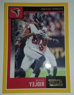 Atlanta Falcons WR Calvin Ridley 2020 Panini Score Gold Bord