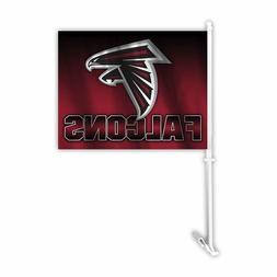 auto car window flag nfl atlanta falcons