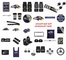 Brand New NFL Baltimore Ravens Pick Your Gear / Accessories