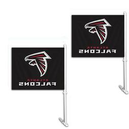 Dallas Cowboys Car Flag w/Wall Bracket Set Of 2